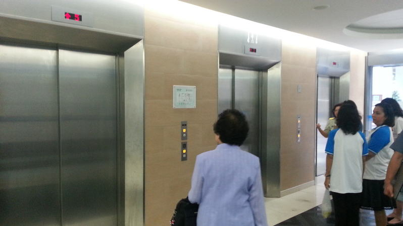 7. Take an elevator to the 3rd floor where our travel clinic located.